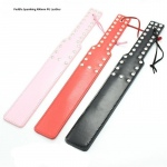 Spanking Paddle PU Leather (pink)