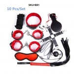 10 Piece Bondage Kit